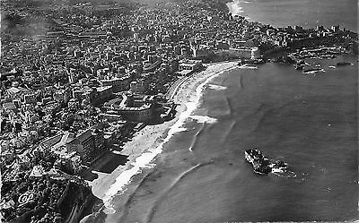 64 Carte Photo Biarritz Grande Plage Vue Aerienne Durandaud