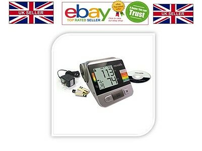 Microlife Deluxe Automatic Blood Pressure Monitor With 4 Aa Batteries