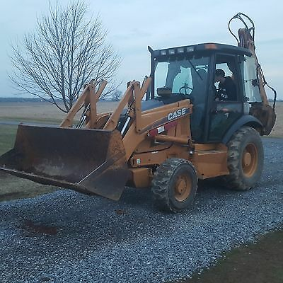 case backhoe