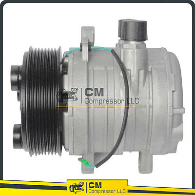 >New A/C Compressor Seltec TM08 Pulley 8 Groove 24V - CM101104