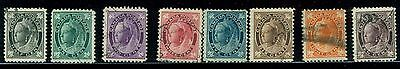 Canada stamps Set  #66-73 (8)  Used  F/VF  Catalouge $125