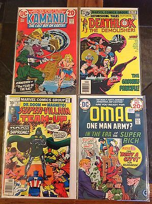 Bronze Comic Book Lot Marvel And Dc Higher Grade