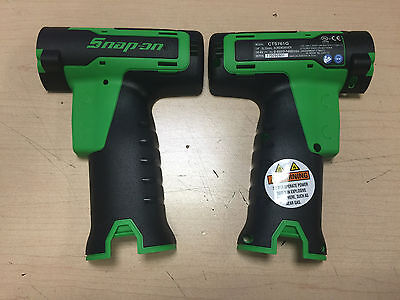 """New Snap On Cts761g Green 1/4"""" 14v Screwdriver Drill Body Replacement Shell"""