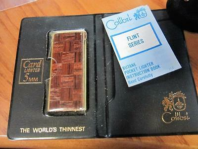 Colibri 5Mm Worlds Thinnest Lighter In Case With Paperwork