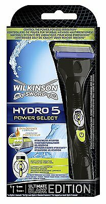 Hydro 5 by Wilkinson Sword Power Select Razor Black Edition by Wilkinson Sword