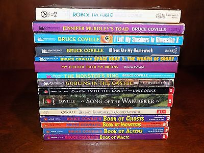 Lot of 15 youth books by Bruce Coville - paperback