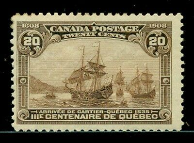 Canada #103. 20 cent. Mint Never Hinged. Fine/Very Fine. Catalog $600