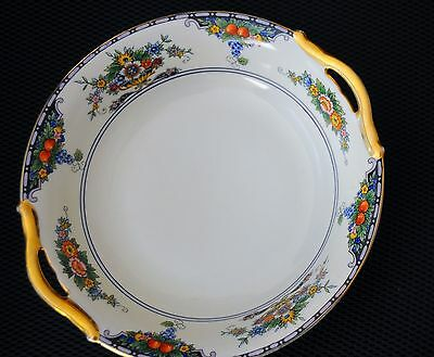 """Antique Noritake  """"M"""" marked Hand Painted Vegetable dish From Japan"""