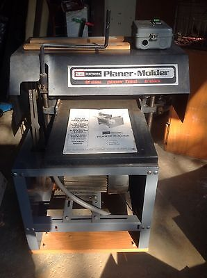 Sears Craftsman 5hp Planer-Molder 306.233751
