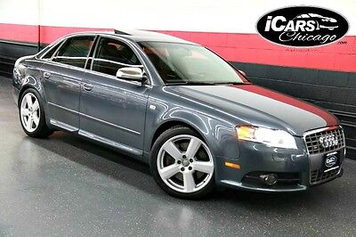 2005 Audi S4 Base Sedan 4-Door 2005 Audi S4 Navigation 6 Speed Manual Only 70,700 Miles Serviced