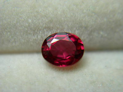 rare fire Red Spinel Gem Natural Gemstone untreated FLUORESCENT Mogok Burma rs43