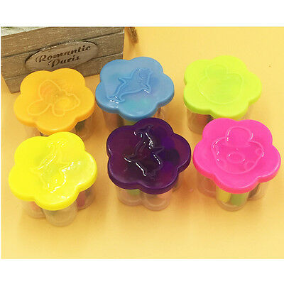 12 Pcs Newly Kids Play Dough Doh Clay Modeling Cutter Tool Toy Craft Toys Set SA