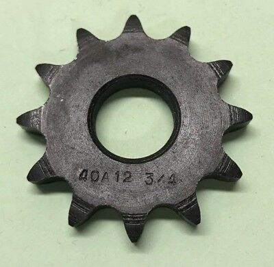 #40 12 Tooth  - #50 Sprocket 10 Tooth