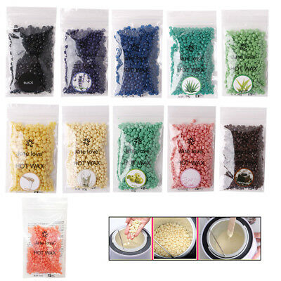50/100g Hard Wax Beans Hair Removal Waxing Hot Bikini Depilatory No Strip Pellet