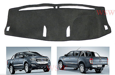 Fit For 16 17 Ford Ranger PX XLT MK2 Dashboard Cover Dashmat Dash Mat Pad