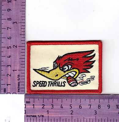 Speed Thrills  Embroidered Badge / Cloth Patch