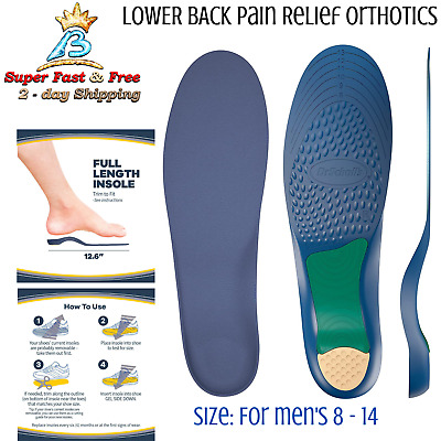 Thick Memory Foam Insoles All Day Comfort Airplus Insoles Foot Pain Relief 3 Pcs