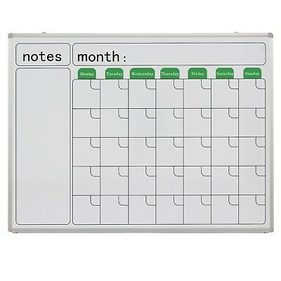 Wall Mounted Calendar Whiteboard 1200*905mm