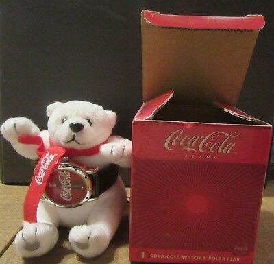 New in box 2003 Coca Cola Bear & Watch