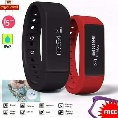 Bluetooth 4.0 Smart Bracelet Sport Watch Step Calorie Counter Tracker Pedometer