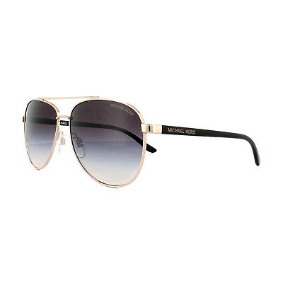 1553ec0581d MICHAEL KORS SUNGLASSES Hvar 5007 109936 Rose Gold Brown Gradient ...