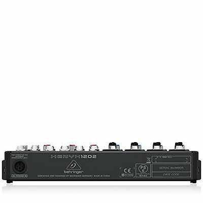 New BEHRINGER XENYX 1202 12-Input 2-Bus Mixer with XENYX Mic Preamps From Japan
