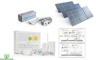 OWL Intuition-PV Type 2 Solar Panel Monitor (Data Logs Generation, Export & Use)