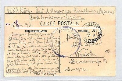 BM30 1916 Hungary Camel Post Card PTS