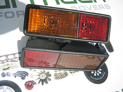 Land Rover Discovery 1, 300Tdi Rear Indicator & Stop Light Set, Amr6509, Amr6510