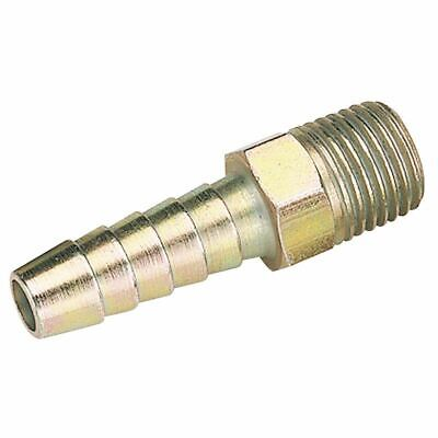 "Draper 1/4"" Bsp Taper 5/16"" Bore Pcl Male Screw Tailpiece Sold Loose 25799"