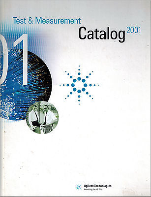 Hewlett Packard Electronic Test Catalog Hardback 2001