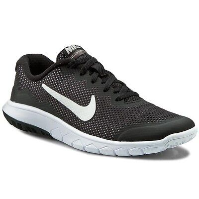 Brand New Nike Flex Experience 4 GS Youth Shoes Black Grey White 749807-001 Boys