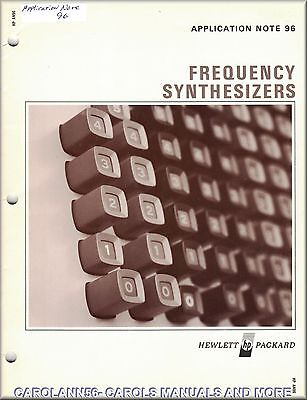 HP Application Note 96 FREQUENCY SYNTHESIZERS