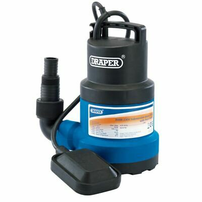 Draper Submersible Water Pump With Float Switch 108l/Min 61668
