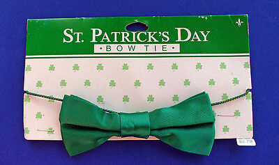 BUY1&GET1@50%~Gibson BOW TIE St Patrick MOC Wearing of the GREEN Holiday