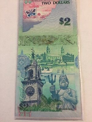 2009 Bermuda Set Of UNC Currency. 2,5,10,20,50,100 Dollar Notes.