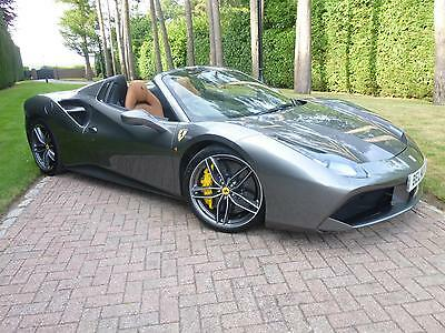 FERRARI 488 3.9 (670ps) AUTO SEQ SPIDER, GRIGIO FERRO METALLIC