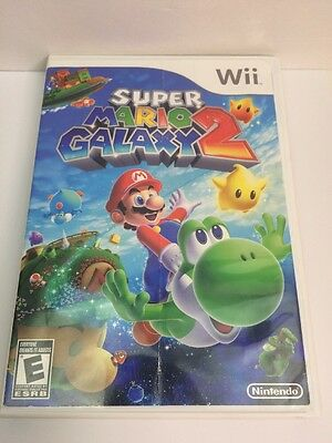 Super Mario Galaxy 2 Nintendo Wii Tested & Complete Canadian Seller Fun Game