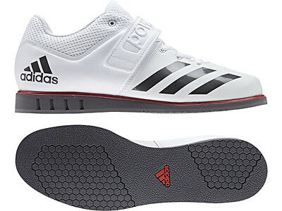 Adidas Men's Powerlift 3.1 White/Night Metallic/Grey BA8018 Sz 6 - 13