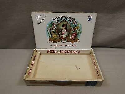 La Rosa Aromatic  Leaf Cigar Box 1930's