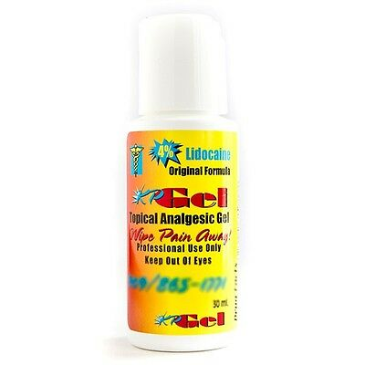 KP Permanent Makeup TOPICAL ANALGESIC NUMBING CREAM GEL 1oz with LIDOCAINE