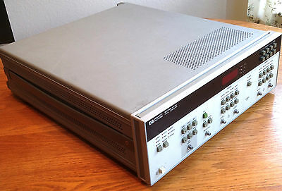 HP Agilent 8131A 500MHz High Speed 2-Channel Pulse Generator opt 020 TESTED