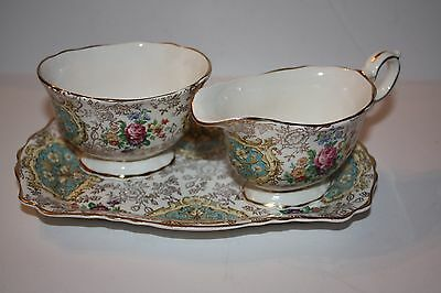 Beautiful 3 Piece Set of OLD FOLEY James Kent Ltd. Staffordshire England Open Su