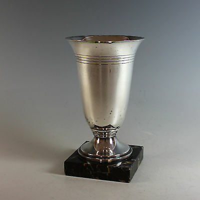 Vintage Silver plate Trophy Cup No Engraving