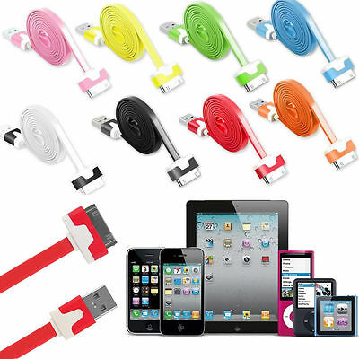 USB Data Charger Cable for Apple iPhone 4S 4 3GS iPod Touch iPad 2 3 Sync