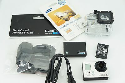GoPro Hero3 Black Waterproof Action Camera + 16GB class10 and Mounts