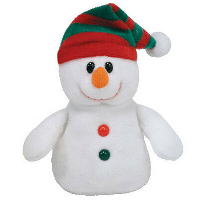 TY Jingle Beanie Baby - CHILLER the Snowman (Walgreens Exclusive) - MWMTs