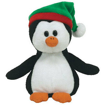 TY Jingle Beanie Baby - SNOWBOUND the Penguin  (Walgreens Excl) (4 inch) - MWMTs