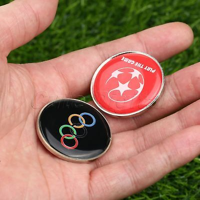 1/2 Pcs Sporting Football Soccer Coach Referee Flip Toss Coin Disc Double Side