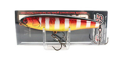Jackall Bonnie 95 Pencil Floating Lure Red Gold Gill (3774)